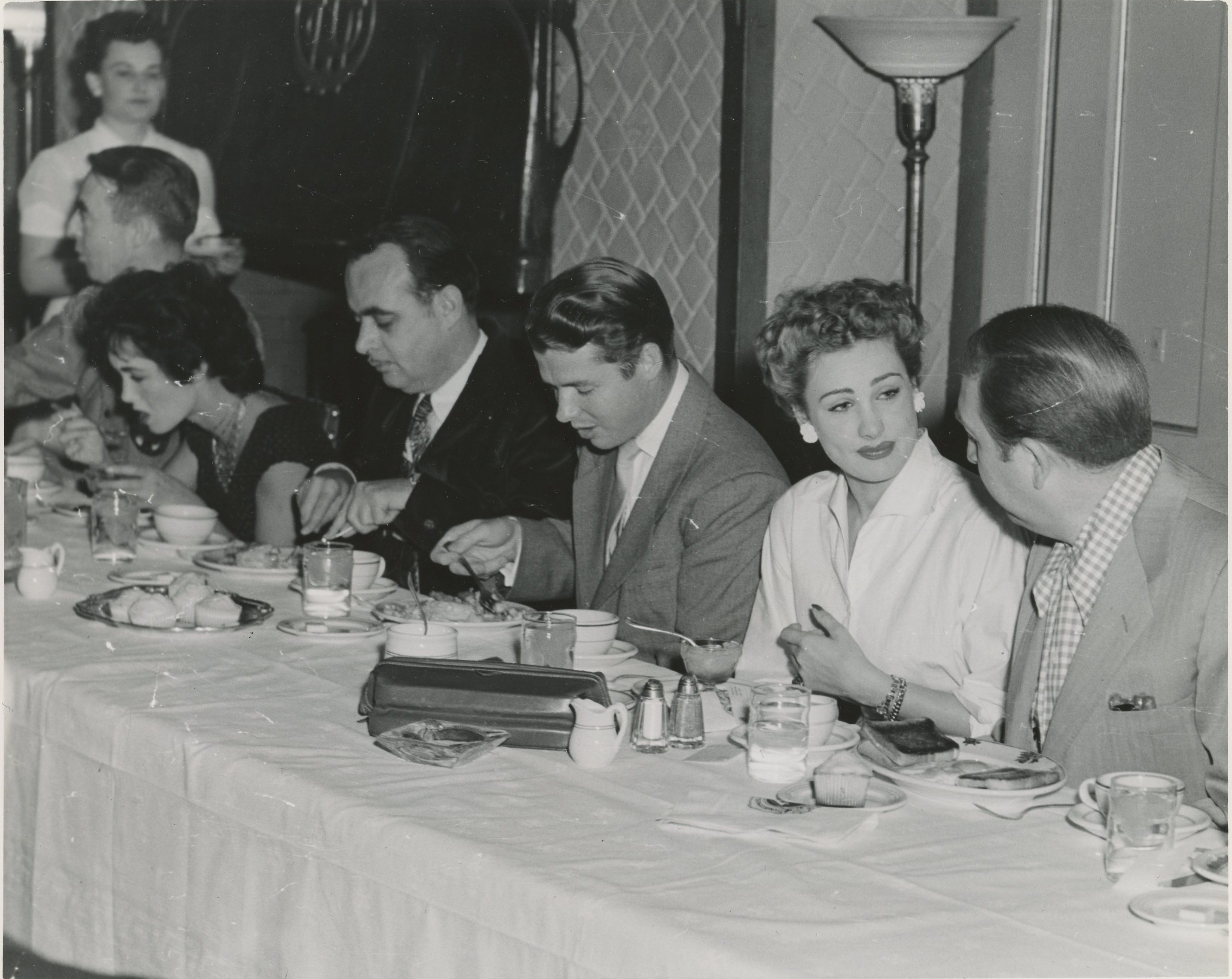 Left To Right Susan Cabot Norman Audie Murphy Renate